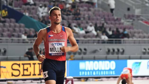 Vít Muller, 400 metrů překážek