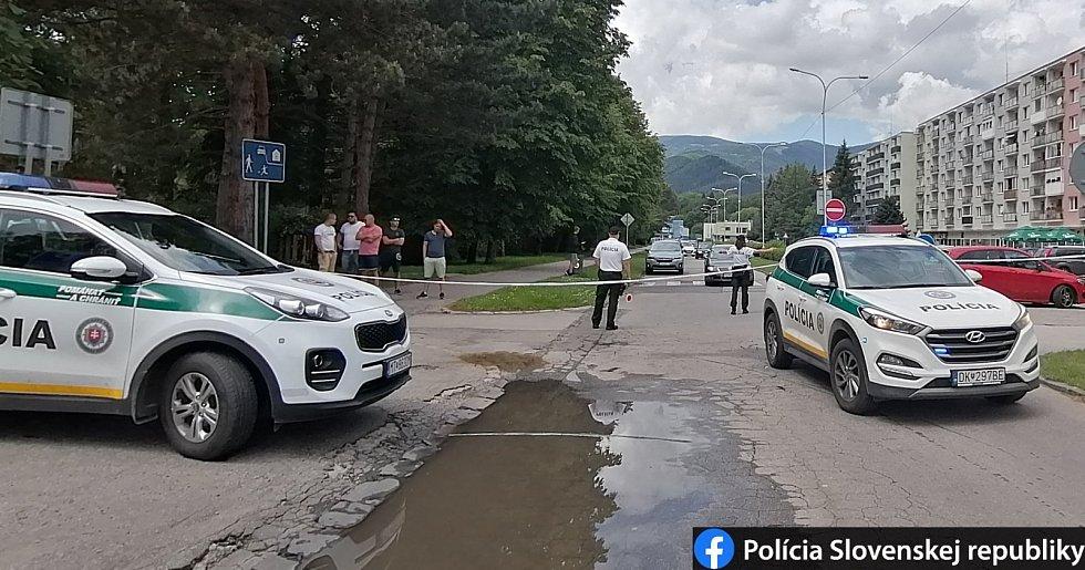 Útok na základní škole ve slovenské obci Vrútky