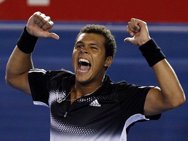 Radost Francouze je pochopitelná. Je největším překvapením Australian Open.