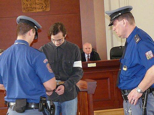 Antonín Šafář před Krajským soudem v Plzni