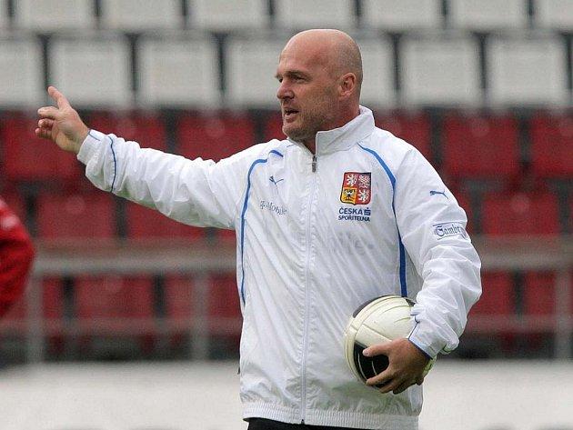 Trenér Michal Bílek.