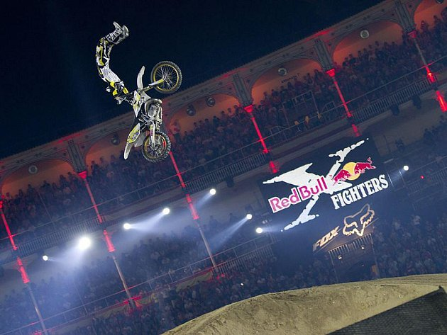 Maikel Melero na Red bull X-Fighters v Madridu.