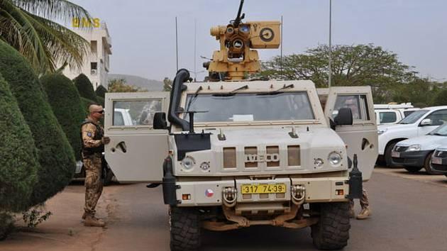 Čeští vojáci působící v Mali