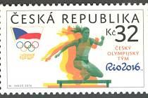Soudní spor. Atletka Zuzana Hejnová je přesvědčená, že známka České pošty vyobrazuje ji.