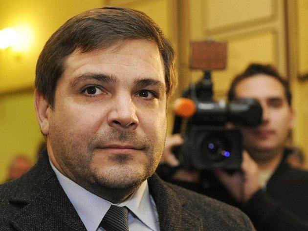 Bývalý náměstek pražského primátora Karel Březina u Obvodního soudu pro Prahu 2.