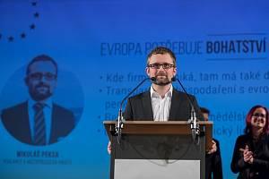 Europoslanec Mikuláš Peksa