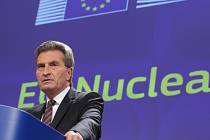 Evropský komisař Günther Oettinger.