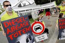 Aktivisté v Německu volají po úplném zákazu dieslů do měst.