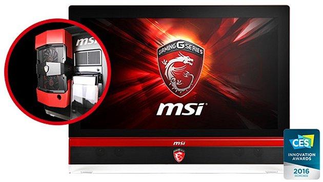 Budoucnost PC gamingu, produkt od společnosti MSI.