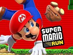 Mobilní hra Super Mario Run.