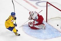 Mistrovství světa hokejistů do 20 let v Edmontonu, skupina B, utkání Česká republika - Švédsko.