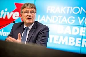 Jörg Meuthen z krajní pravice AfD