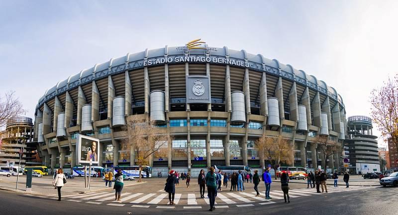 …kde své domácí zápasy hraje světoznámý Bílý balet - Real Madrid.