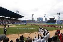 Sláva na Kubě: Tampa porazila v baseballové exhibici místní výběr