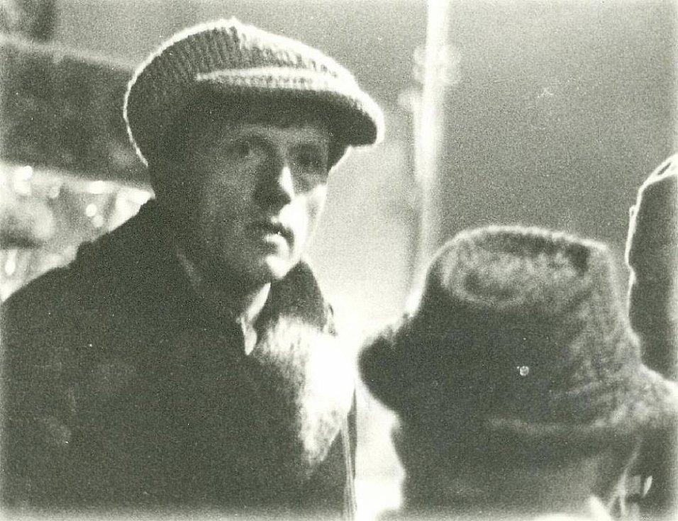 Miroslav Macek v listopadu 1989