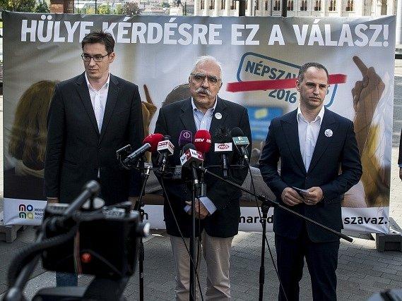Maďarská opozice zahájila rozsáhlou kampaň proti připravovanému referendu o kvótách na rozdělování migrantů mezi členské země Evropské unie.