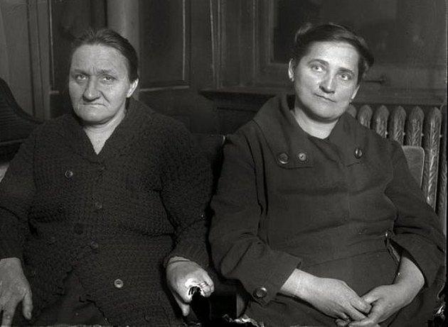 Ottilie Klimek se sestřenicí Nellie