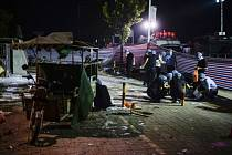 Výbuch před školkou v Číně