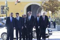 Andrzej Duda, János Áder, Andrej Kiska, Miloš Zeman