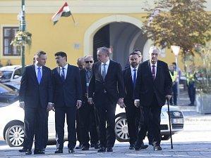 Prezidenti zemí visegrádské skupiny