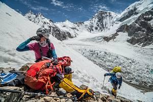 Klára Kolouchová ve filmu K2 vlastní cestou