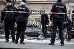 Muž se pokusil 18. ledna na pražském Václavském náměstí upálit.