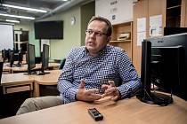 Moderátor České televize Václav Moravec.