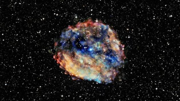 Pravděpodobně nejpomalejší nalezený pulsar 1E 1613.