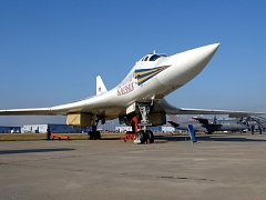 Ruský bombardér Tupolev Tu-160