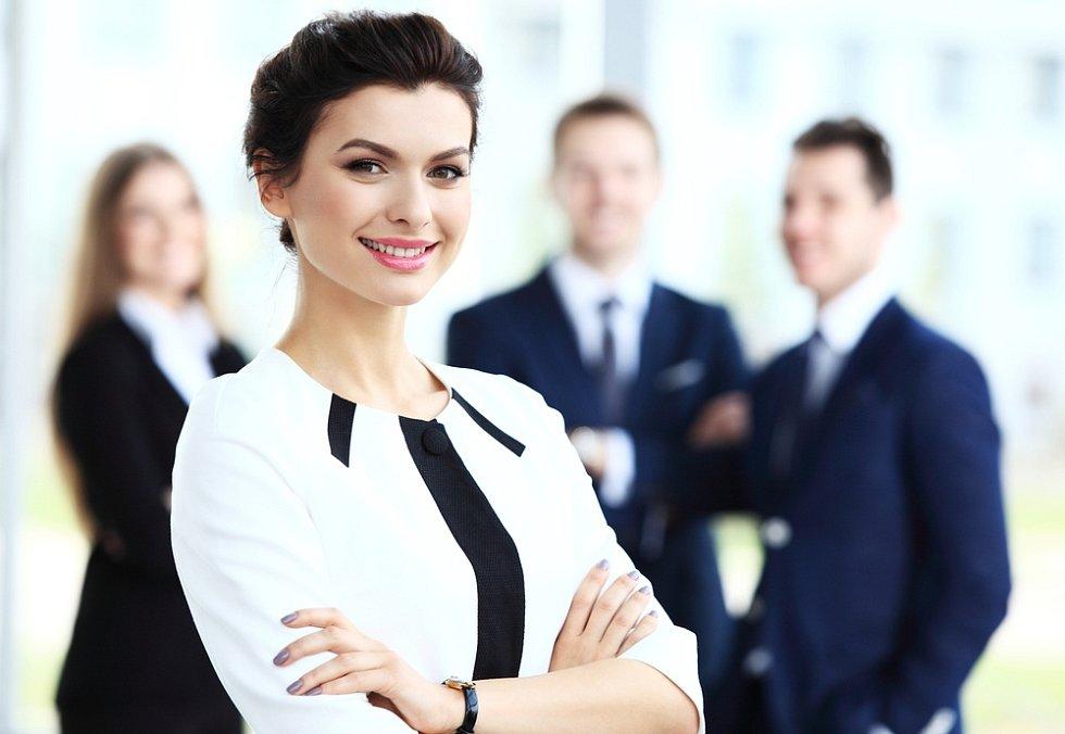 Ženy jsou velmi úspěšné manažerky.