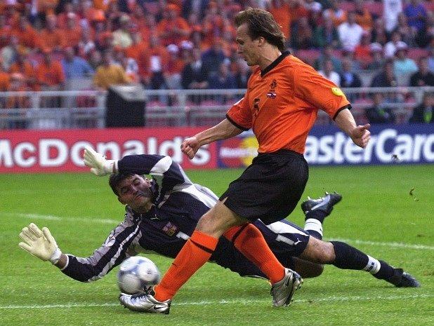 Pavel Srníček. Během Eura 2000