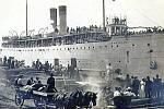 Parník SS Eastland, přezdívaný v důsledku katastrofy český Titanic
