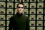 Keanu Reeves jako hacker Neo
