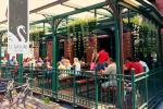 Restaurace U Labutě v Přerově.