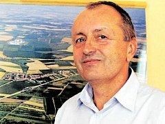 Velkopavlovický starosta Jiří Otřel