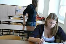 Studenti u zkoušek. Ilustrační foto