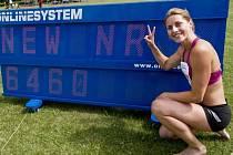 Sedmibojařka Eliška Klučinová triumfovala na mítinku v Kladně v novém českém rekordu 6460 bodů.