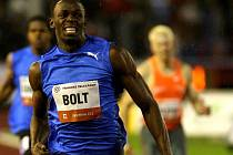 Sprinter Usain Bolt.
