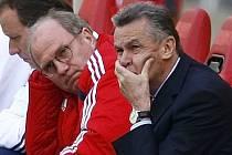 Trenér Bayernu Mnichov Ottmar Hitzfeld