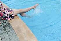 Bazén. Ilustrační snímek