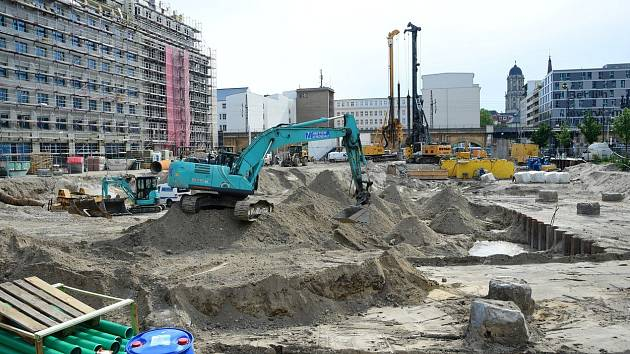 V centru Berlína našli nevybuchlou pumu z 2. světové války
