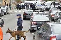 Zátah belgické policie.