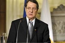 Kyperský prezident Nikos Anastasiadis