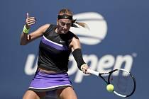 Česká tenistka Petra Kvitová ve 2. kole US Open