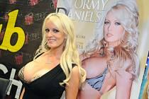 Pornohvězda Stephanie Cliffordová, alias Stormy Danielsová