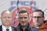 Tři kandidáti na předsedu: Petr Fousek, Vladimír Šmicer a Karel Poborský