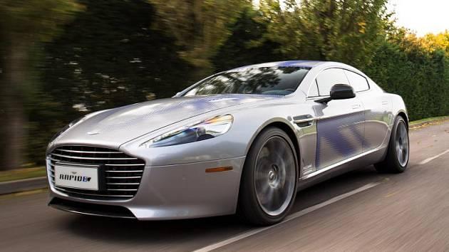Nový vůz pro agenta 007. Elektromobil Aston Martin Rapide E