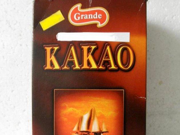 Státní zemědělská a potravinářská inspekce (SZPI) zakázala prodávat kakao značky Grande z Polska.