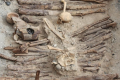 Staří Číňané pálili konopí a vdechovali jeho kouř. Pravděpodobně se jednalo o součást pohřebních rituálů