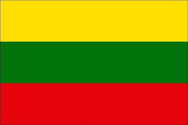 Vědí čeští fotbaloví funkcionáři, že tohle není vlajka Lotyšska, ale Litvy?